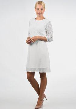 Vero Moda - SPITZENKLEID EVE - Cocktailkleid/festliches Kleid - snow white