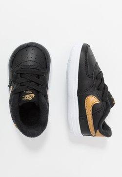 Nike Sportswear - FORCE 1 CRIB - Krabbelschuh - black/metallic gold