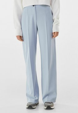 Bershka - Stoffhose - light blue