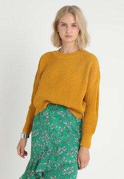 Glamorous - Strickpullover - mustard