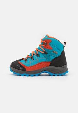 Hi-Tec - CARNIVAL WP JR UNISEX - Obuwie hikingowe - light blue/orange
