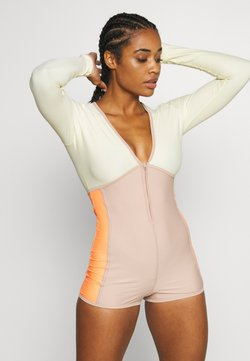 Free People - TAKE A PLUNGE SURF SUIT - Turnpak - rose dust