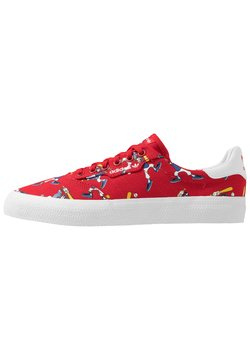 adidas Originals - 3MC X DISNEY GOOFY - Matalavartiset tennarit - scarlet/footwear white/collegiate royal