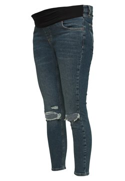 Topshop Maternity - JAMIE ALABAMA RIP - Jeans Skinny Fit - green cast