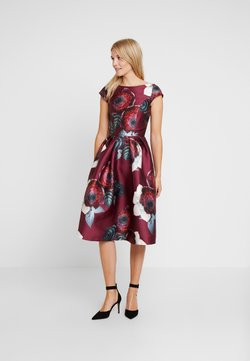 Chi Chi London - KARYA DRESS - Cocktailkleid/festliches Kleid - burgundy