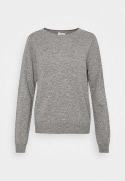 CLOSED - WOMENS - Sweter - grey heather melange