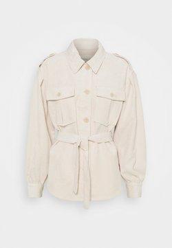 ONLY - ONLNINA SHORT SHACKET - Summer jacket - pumice stone