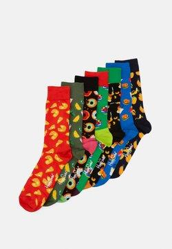 Happy Socks - 7 DAYS OF FOOD SOCKS GIFT SET 7 PACK - Chaussettes - multi-coloured