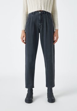 PULL&BEAR - SLOUCHY - Jeans Relaxed Fit - black