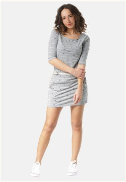 Ragwear - TANYA ORGANIC - Freizeitkleid - grey