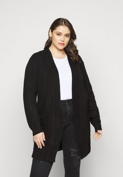 New Look Curves - CARDIGAN - Gilet - black