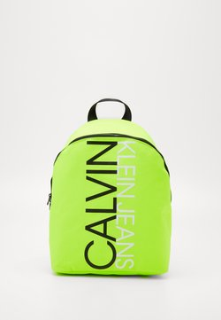 Calvin Klein Jeans - INSTITUTIONAL LOGO BACKPACK - Reppu - yellow