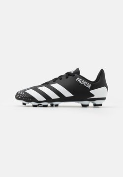 adidas Performance - PREDATOR 20.4 FXG UNISEX - Chaussures de foot à crampons - core black/footwear white
