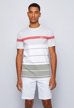 BOSS ATHLEISURE - T-Shirt print - grey