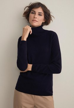 Falconeri - MIT LANGARM - Strickpullover - dark blue