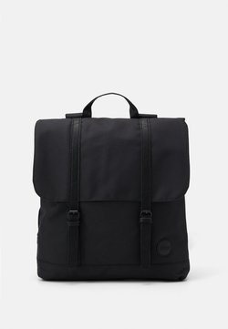 Enter - CITY BACKPACK FRONT STRAPS - Reppu - black