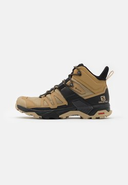 Salomon - X ULTRA 4 MID GTX - Vaelluskengät - kelp/black/safari