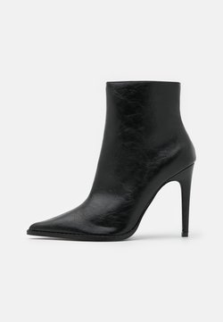 Topshop - HONEY POINT ZIP BOOT - Bottines - black
