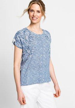 Olsen - T-Shirt print - blau