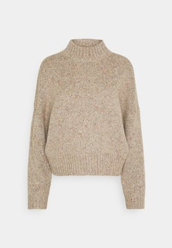 ONLY - ONLTATA - Strickpullover - simply taupe