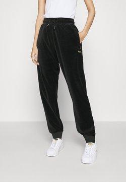 Fila - BELLUNA TRACK PANTS - Jogginghose - black