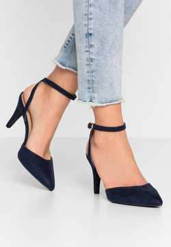 New Look Wide Fit - WIDE FIT REMY - High Heel Pumps - navy