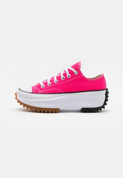 Converse - RUN STAR HIKE PLATFORM UNISEX - Sneakers laag - hyper pink/white
