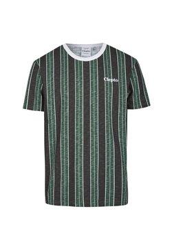 Cleptomanicx - SOIR - T-Shirt print - scarab green
