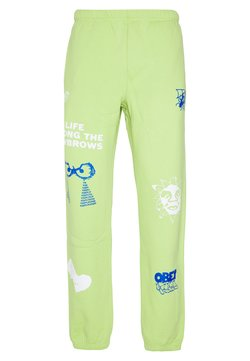Obey Clothing - CHOSEN ALL EYEZ - Jogginghose - key lime