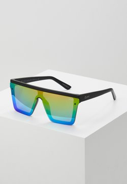 QUAY AUSTRALIA - HINDSIGHT - Aurinkolasit - matte black/rainbow