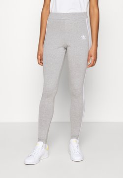 adidas Originals - THREE STRIPES TIGHT - Legging - medium grey heather