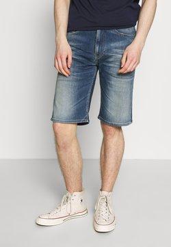 Tommy Jeans - REY RELAXED SHORT - Jeansshort - dark-blue denim