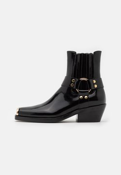 Jeffrey Campbell - POKER - Korte laarzen - black/gold
