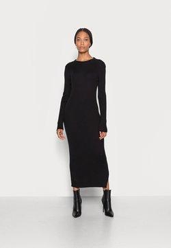 Esprit - DRESS - Sukienka dzianinowa - black