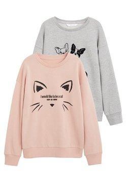 Mango - 2er-Pack - Sweatshirt - rose clair
