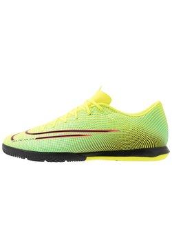 Nike Performance - MERCURIAL VAPOR 13 ACADEMY MDS IC - Indoor football boots - lemon/black/aurora green