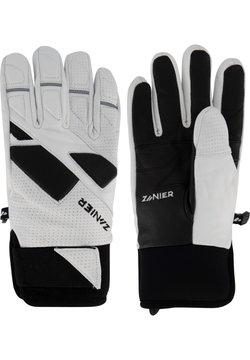Zanier - Fingerhandschuh - weiss-schwarz