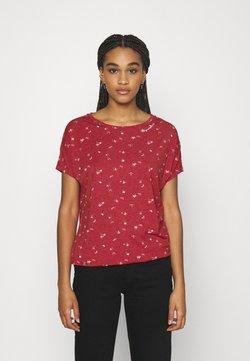 Ragwear - PECORI - T-Shirt print - red