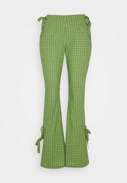The Ragged Priest - TRADEMARK FLARE PANT - Stoffhose - lime