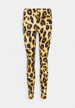 JDY - JDYSHAWN - Leggings - Hosen - autumn blonde/leo