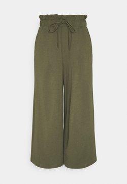 ONLY - ONLKIRAS LIFE CULOTTE PANTS - Pantaloni - kalamata