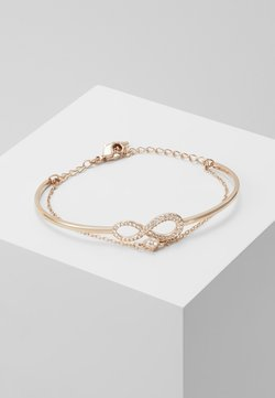 Swarovski - INFINITY BANGLE CHAIN - Bracelet - silver-coloured