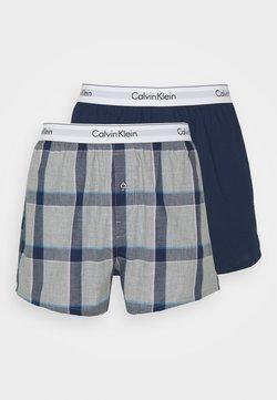 Calvin Klein Underwear - SLIM FIT 2 PACK - Boxer shorts - grey