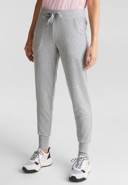 Esprit Sports - SAMTIGE SWEAT MIT BIO-BAUMWOLLE - Jogginghose - medium grey