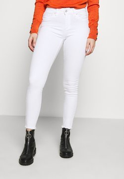 ONLY Petite - ONLBLUSH MID RAW - Jeans Skinny Fit - white