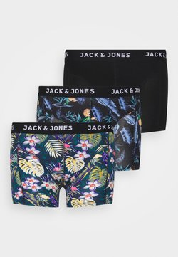 Jack & Jones - JACSUMMER TRUNKS 3 PACK - Shorty - black