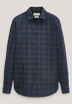 Massimo Dutti - Shirt - blue-black denim