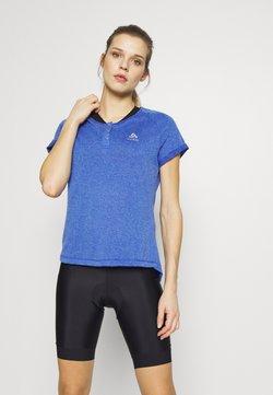 ODLO - CREW NECK ELEMENT - T-Shirt print - amparo blue melange