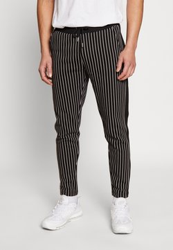 Burton Menswear London - PINSTRIPE - Jogginghose - black