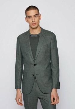 BOSS - Anzug - dark green